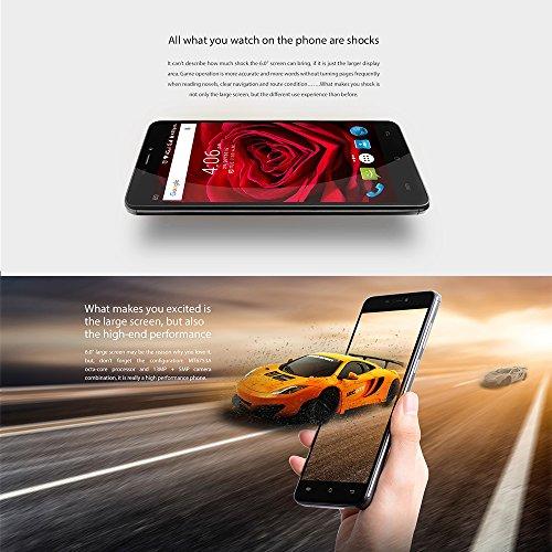 Cubot-Max-Android-60-Smartphone-3GB-Ram-32GB-60-Zoll-152cm-HD-IPS-25D-gebogener-Bildschirm4100-mAh-Akku-Dual-SIM-50MP-130MP-Kamera-4G-LTE-FDD-Bluetooth-40