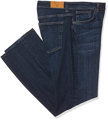 GANT Damen Slim Regular Classic Denim Jeans Blau (Mid Blue Worn In)