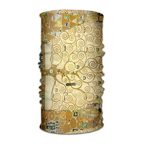 Pengyong Gustav Klimt Gemälde Unisex Fashion schnelltrocknend Mikrofaser Kopfschmuck Outdoor Magic Schal Hals Hals Schal Kapuzen Schal Super Soft Griff Fashion Unisex Schal