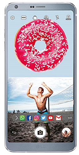 LG G6(Platinum, FullVision) (CERTIFIED REFURBISHED)