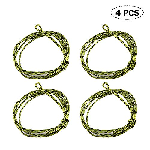 Lepeuxi 1 stücke / 4 stücke Lead Core Angelschnur £ £ Looped Karpfenangeln Führer Mit Hülse Ring Swivel Angelgeräte -