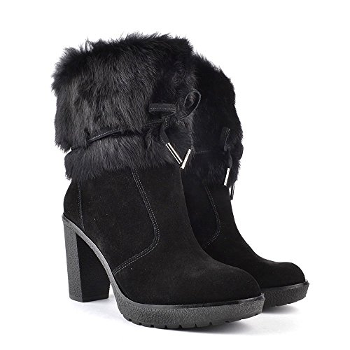 MICHAEL Michael Kors Hawthorne Boots a Talon, Femme Noir