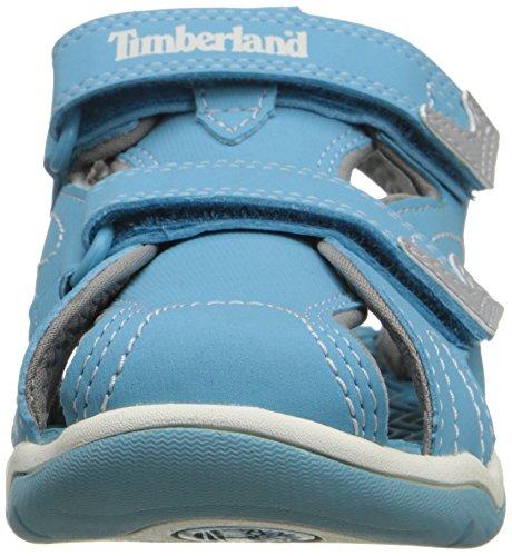 Timberland Mad River Clsd Toe, Sandales mixte enfant Light Blue