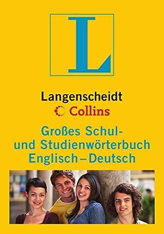 Langenscheidt Collins Großes Schul- und Studienwörterbuch Englisch: