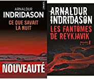 Indridason Arnaldur : Ce que savait la nuit et les fantomes de Reykjavik