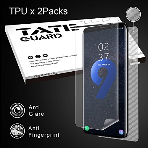 Galaxy S9 Screen Protector[Matte Surface] [Wet Applied], TATE GUARD