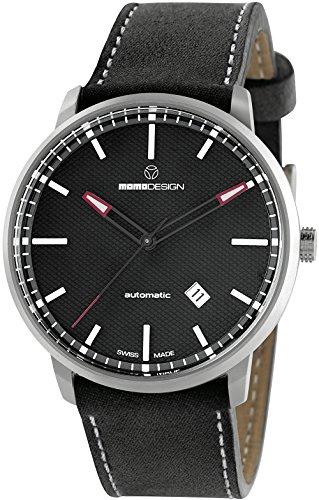 MOMO DESIGN ESSENZIALE Automatik Uhr, ETA 2824, PVD, 42,5mm, md6004ss-12