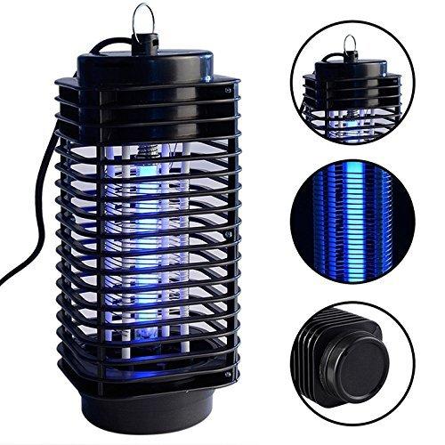 Obere Gebläse (Kayboo Elektronisch Insektenvernichter drinnen Mückenfalle Insektenlampe Stille Bedienung UV-Licht zum Stehen oder Hängen Insektenschutz Mückenschutz tötet Mücken und Insekten)