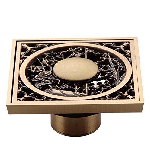 Lichll Badezimmer Zubehör Antique Brass Finish Solid Messing Boden Drain Deodorant Drain-LK-1058 -