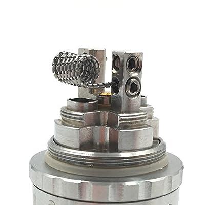 DIY-24H - 10x Tiger 0,36 Ω Ohm Coils Wire Prebuilt Fertigwicklung RDA RBA RTA Kanthal A1 Draht von DIY-24H