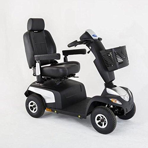 Elektromobil Invacare Orion PRO-6, 4-Rad-E-Mobil, 6 km/h, Silber, das komfortable Seniorenmobil, bis 160 kg inkl. Anlieferung/Einweisung/Aufbau vor Ort