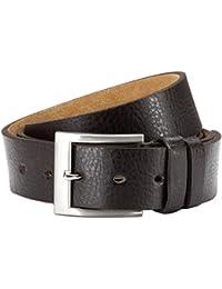 Élégant Cuir PU ceinture Jean Homme Costume de 3,8cm Largeur de traitement de haute qualité réglable individuellement