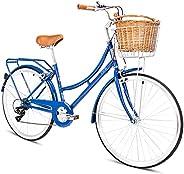 SPARTAN Platinum City Bike - Navy Blue