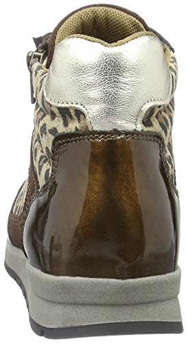 Marc Shoes Damen Raven High-Top Braun (Brown-combi 00157)