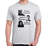 Herren t-shirt Jon Snow-Knows Nothing-Game Of Thrones Inspired lustige shirts fun shirt Perfektes Geschenk für geliebte Mens Funny T Shirts
