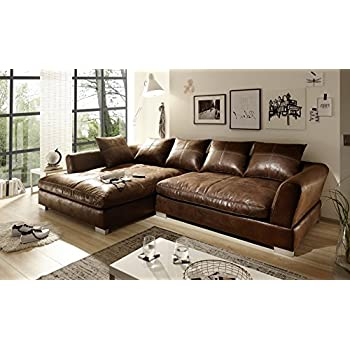 Amazing Sofa Couch Anna L Form Rana Collection X X Cm Vintage With Couch  Braun