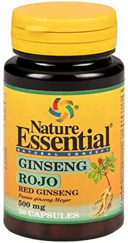 Ginseng Rojo (Ginseng Rosso) 500 mg (Estratto Secco) 50 cps