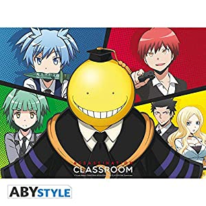 ABYstyle Abysse Corp_ABYDCO386 Assassination Classroom - Póster Koro Vs Pupils (52X38)
