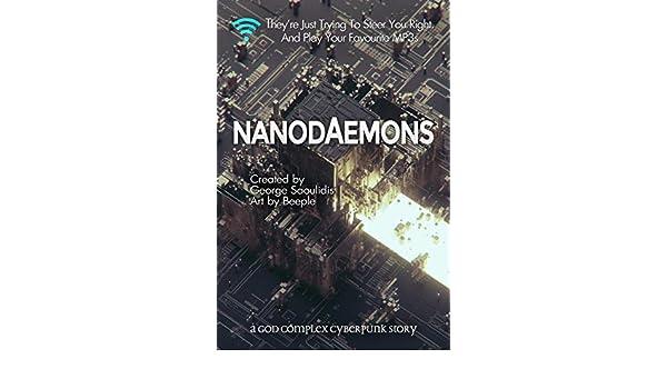 Nanodaemons: A God Complex Cyberpunk Story (English Edition