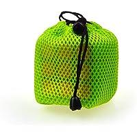 Cubo de Rubik Bolsa de Almacenamiento Espesar Malla Bolsa Cubo de Rubik Bolsa de Almacenamiento Bolso de Terciopelo Bolsa de Malla Bolsa a Prueba de Polvo (Verde) 5 Piezas