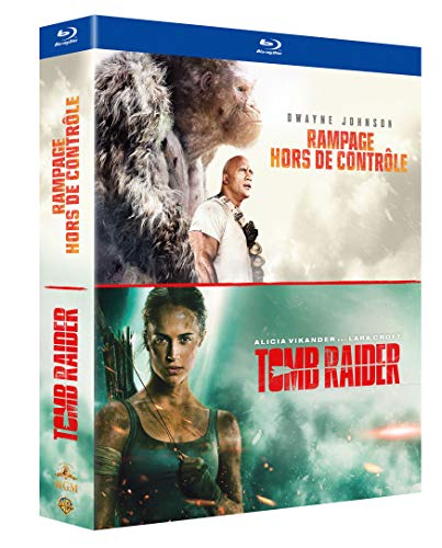 Rampage - Hors de contrôle + Tomb Raider [Blu-ray]