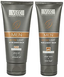 VLCC Men Active Light Hair And Body Wash (125ml) (pack of 2)