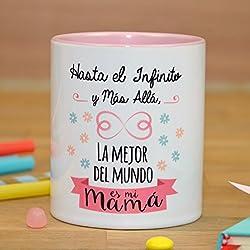 """La mente es Maravillosa - Taza """"Hasta el infinito y mas allá, la mejor del mundo es mi mamá"""""""