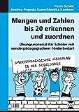 Mengen und Zahlen bis 20 erkennen und zuordnen: Übungsmaterial für Schüler mit sonder pädagogischem Förderbedarf (1. und 2. Klasse) (Sonderpäd. Förderung in der Regelschule)
