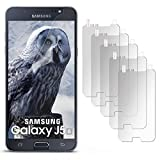 5X Samsung Galaxy J5 (2016) | Schutzfolie Matt Display Schutz [Anti-Reflex] Screen Protector Fingerprint Handy-Folie Matte Displayschutz-Folie für Samsung Galaxy J5 2016 Displayfolie
