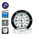 Boriyuan Spy Clock Tischuhr mit versteckter Kamera und Bewegungsmelder/Geräuscherkennung