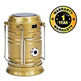 #4: Cospex Solar Emergency Light Lantern, USB Mobile Charging Point Compatible with All Smartphones