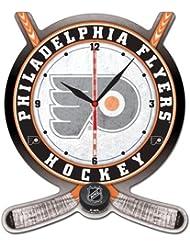 NHL High Definition placa Clock Philadelphia Flyers