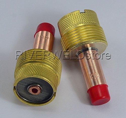 995795 1/20,3 cm Grand diamètre TIG Gaz Objectif Collet Corps SR WP Lampe torche 17 18 26 cm