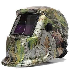 audew masque de soudure cagoule casque soudage solaire automatique utiliser energie solaire pour. Black Bedroom Furniture Sets. Home Design Ideas