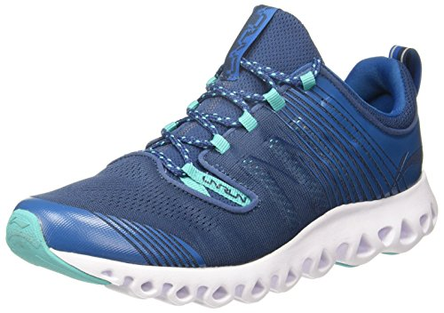 13. Li-Ning Men's Muddy Mykonos Blue/Ceramic Running Shoes