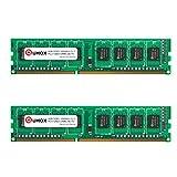 QUMOX 8GB (2X 4GB) DDR3 PC3-12800 1600MHz 1600 (240 Pin) DIMM Memoria