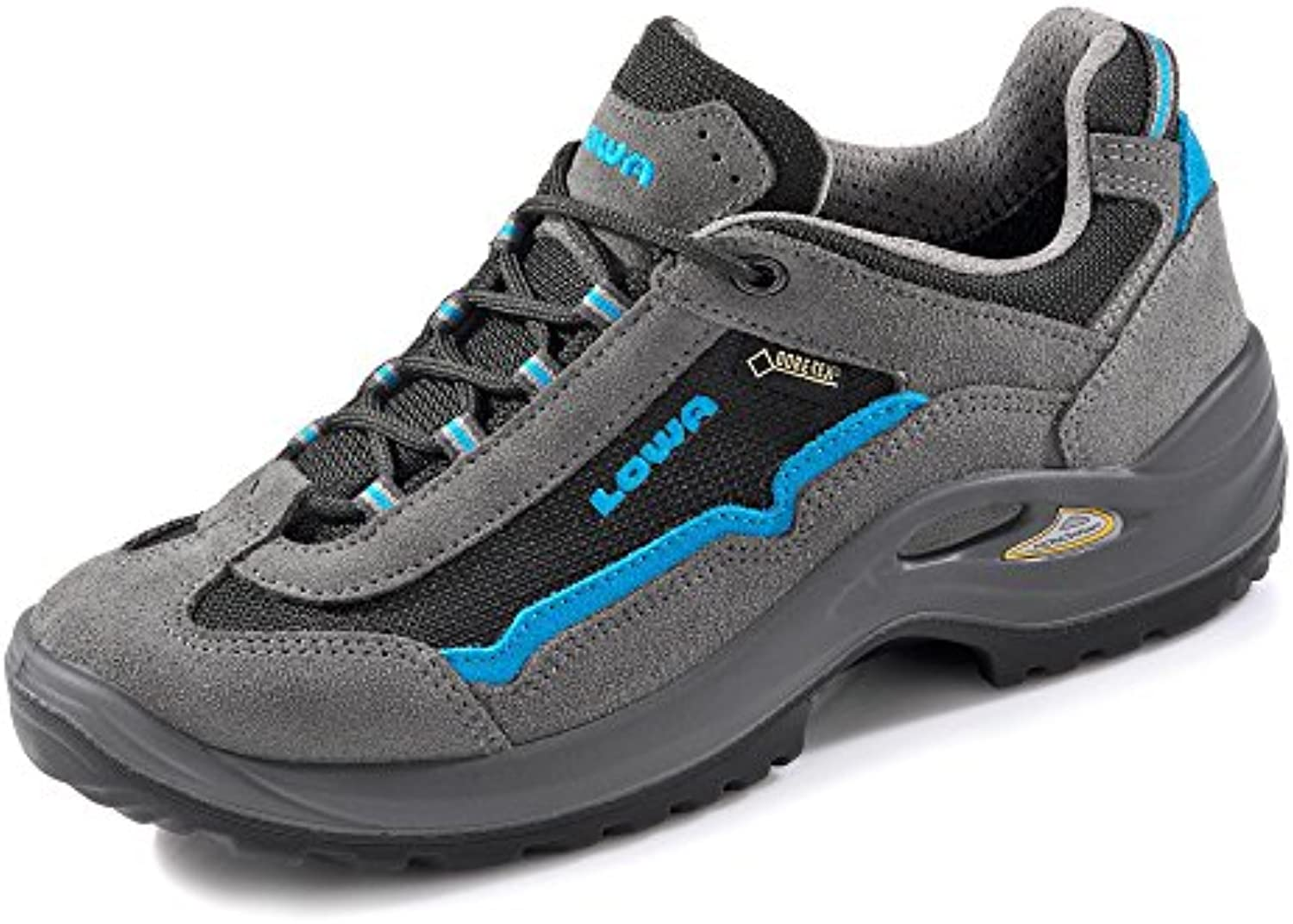3676b57ab Lowa gamesworld-2736 Women s Parent tyro Blau GTX Lo WS Trainers  Grau Pacific Blau Parent B01D1GVLLQ 1438937