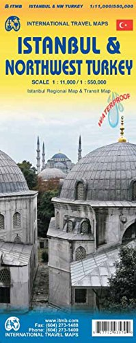 ISTANBUL AND NORTHWEST TURKEY par Collectif