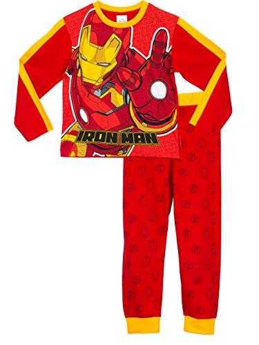 Marvel-Avengers-Pigiama-a-maniche-lunga-per-ragazzi-Iron-Man