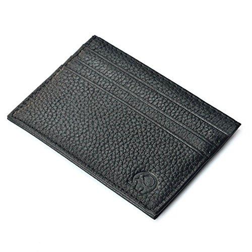 Ularma Moda Tarjeta crédito Slim soporte Mini cartera