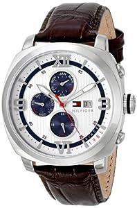 Tommy Hilfiger 1790968 - Reloj de pulsera hombre, piel de Tommy Hilfiger