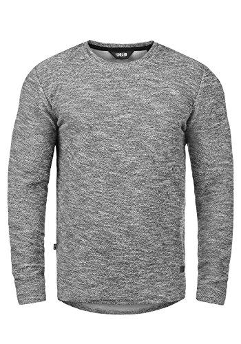 !Solid Gulliver Herren Sweatshirt Pullover Pulli Mit Rundhalsausschnitt Aus 100{22e8d98a75cc578ac10c10c61bee15b5977ee6d32e4fbee12334a0ca18d8a907} Baumwolle, Größe:M, Farbe:Black Melange (9000M)