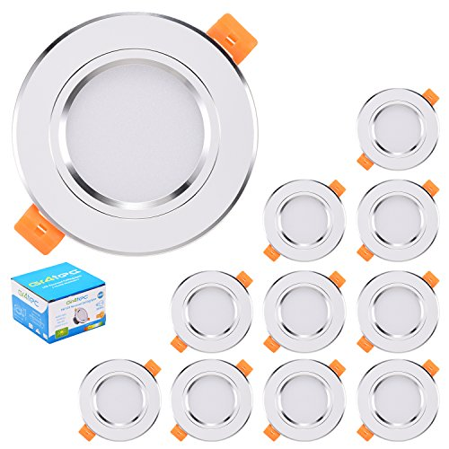 Gr4tec 10x 3W Downlight Focos Led Empotrables en...