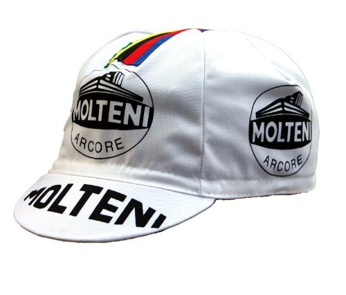 Radmütze Molteni Cap Rennmütze Retro Mütze