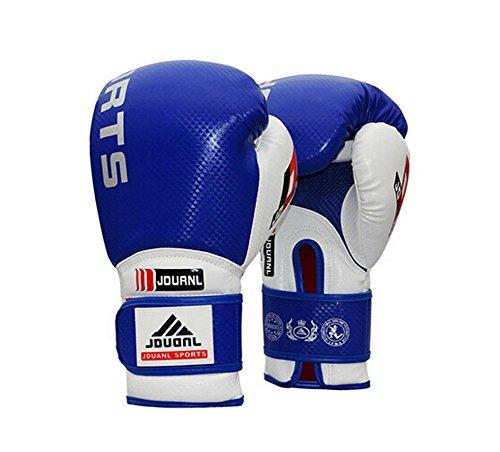 Professional Boxing Martial Arts Trainingshandschuhe blau, 10 Ounce