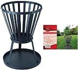 Redwood BB-CH710 Steel Patio Fire Basket Brazier