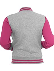 Urban Classics Damen Jacke Ladies 2-tone College Sweatjacket