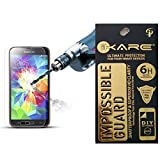 iKare Impossible Tempered Glass Screen Protector for Samsung Galaxy J2 (2.5D ROUND EDGE, REUSABLE, ULTRA CLEAR, REAL SHOCK PROOF, UNBREAKABLE)