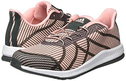 Adidas gymbreaker B–Chaussures de sport pour femme, Rose–(corneb/hieuti/corneb) rouge