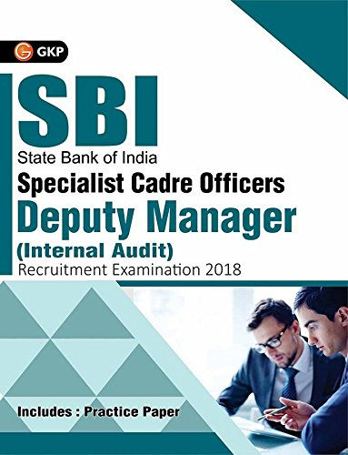 SBI Specialist Cadre Officers - Deputy Manager (Internal Audit) Recruitment Examination 2018